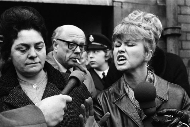 Lillian Bilocca and Yvonne Blenkinsop