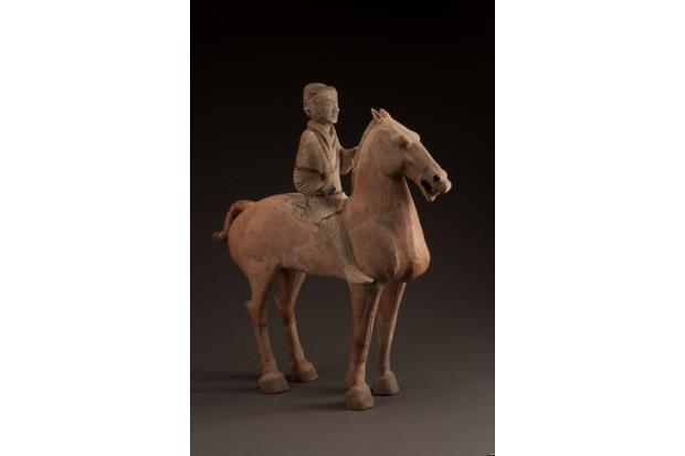 Painted cavalryman. (© Mr. Ziyu Qiu)