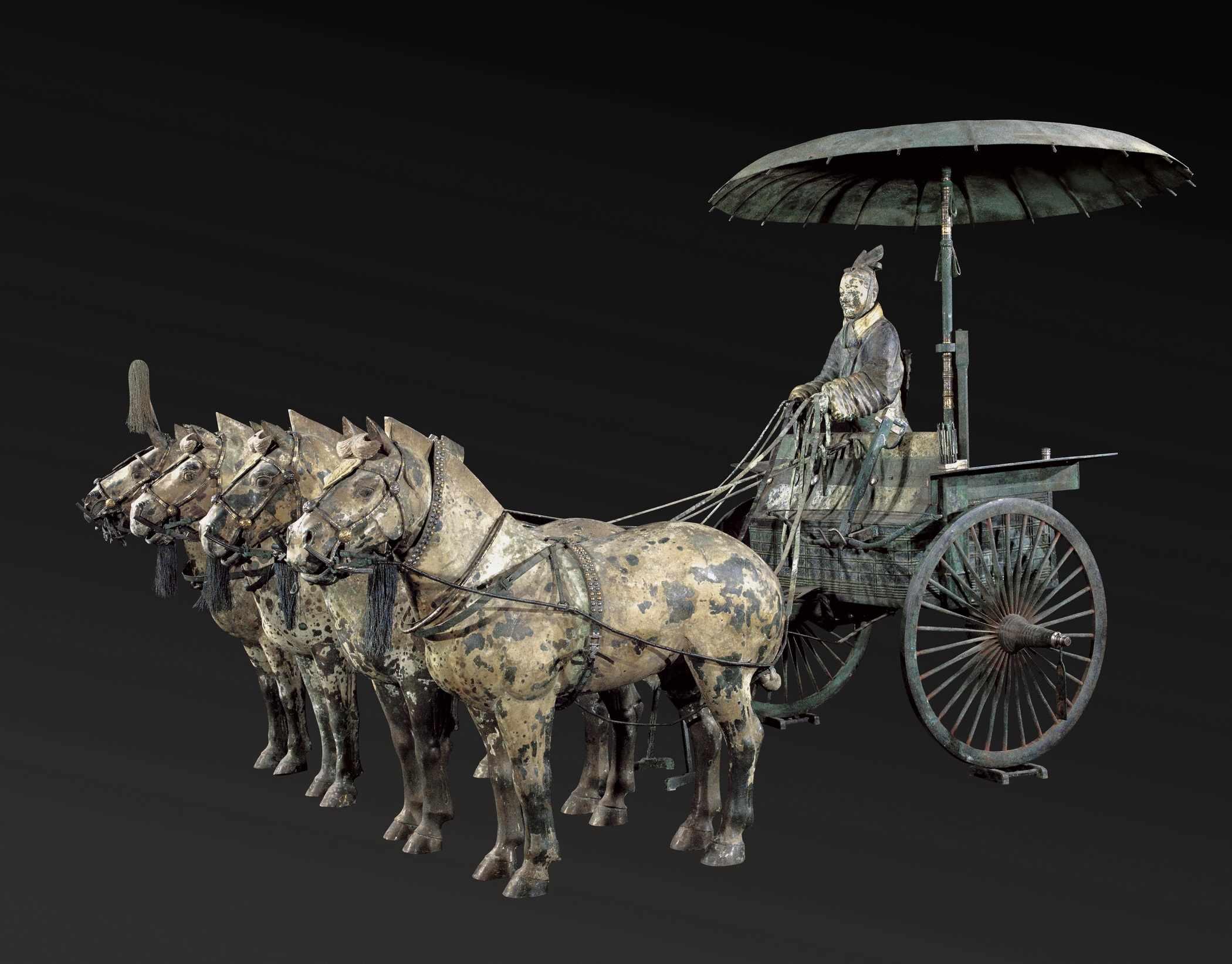 Replica chariot. (© Mr. Ziyu Qiu)