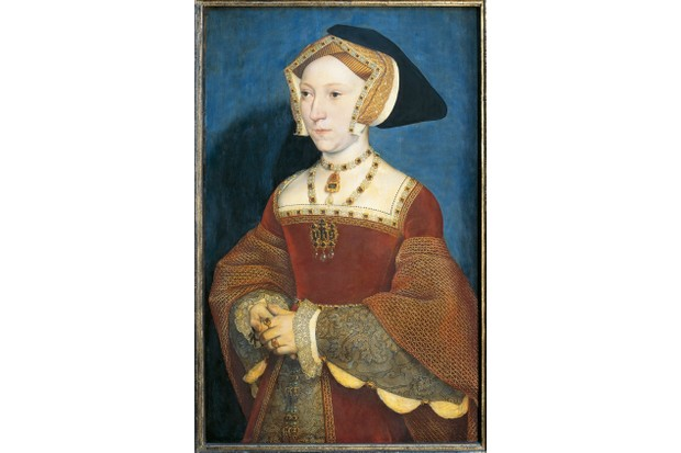A portrait of Jane Seymour, the third wife of Tudor king Henry VIII. Seymour was a second cousin to Anne Boleyn. (Photo By DEA / G. NIMATALLAH/De Agostini/Getty Images)