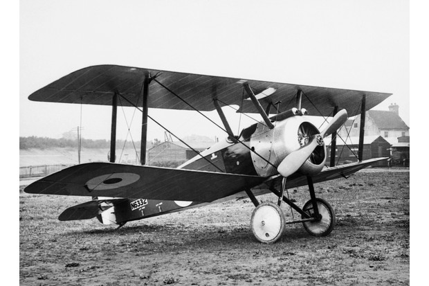 A Royal Flying Corps Sopwith F1 Camel. (Photo by IWM via Getty Images)