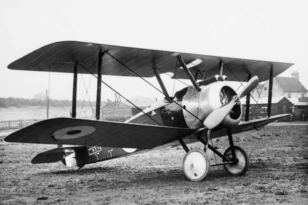 British Aircraft Of The First World War 1914-1918, Sopwith F1 Camel, single-seat scout, 1917. (Photo by IWM via Getty Images)