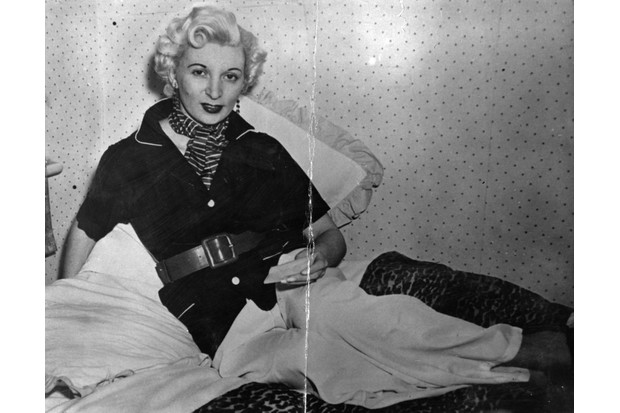 After being convicted of murdering her lover, Ruth Ellis (1926–55) became the last woman in Britain to be executed. (Photo by Evening Standard/Getty Images)