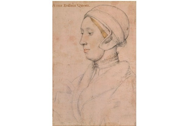 Unknown Lady (believed to be Anne Boleyn), 1536. Found in the collection of the Royal Collection, London. (Photo by Fine Art Images/Heritage Images/Getty Images)