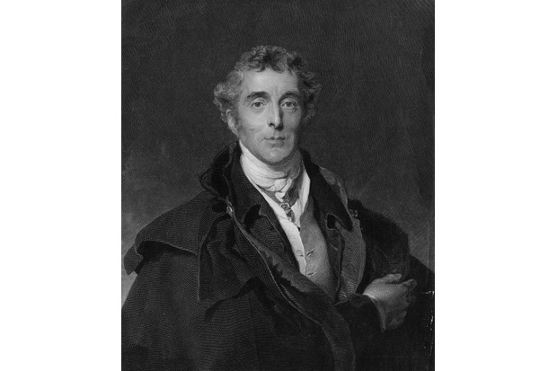 Portrait of Field Marshal Arthur Wellesley, 1st Duke of Wellington, KG, GCB, GCH, PC, FRS (1 May 1769 ? 14 September 1852), who was a British soldier and statesman, a native of Ireland and one of the leading military and political figures of the19th century and is noted for having defeated Emperor Napoleon I at the Battle of Waterloo. Engraving by H.Robinson after an original by Sir Thomas Lawrence. (Photo by Hulton Archive/Getty Images)