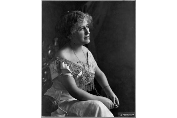 Suffragist, writer and reformer Helen Hamilton Gardener. (Photo by Library of Congress/Corbis/VCG via Getty Images)