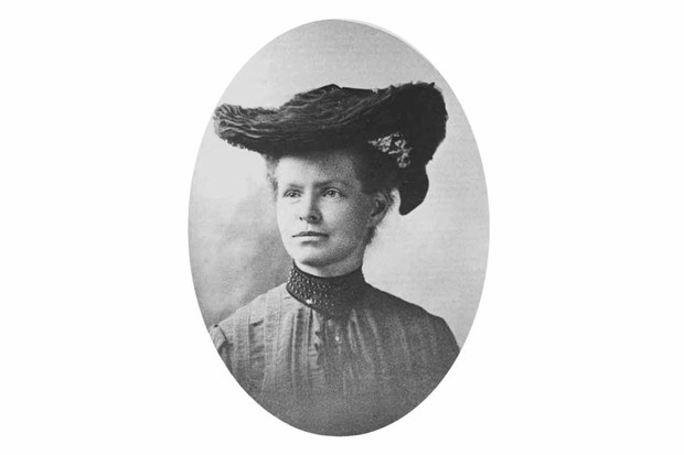 American biologist Nettie Marie Stevens. (© By The Incubator, courtesy of Carnegie Institution of Washington. Public domain, via Wikimedia Commons)