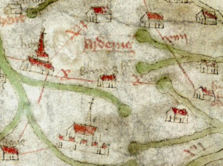 Medieval Map Of England The Gough Map: a map of medieval Britain   HistoryExtra
