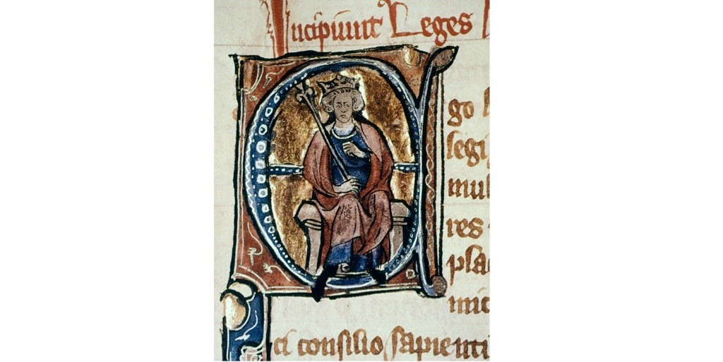 """Alfred the Great """"managed to ensure history's enduring affection by making sure that he wrote it himself,"""" argues Max Adams. (Photo by Granger Historical Picture Archive/Alamy Stock Photo)"""