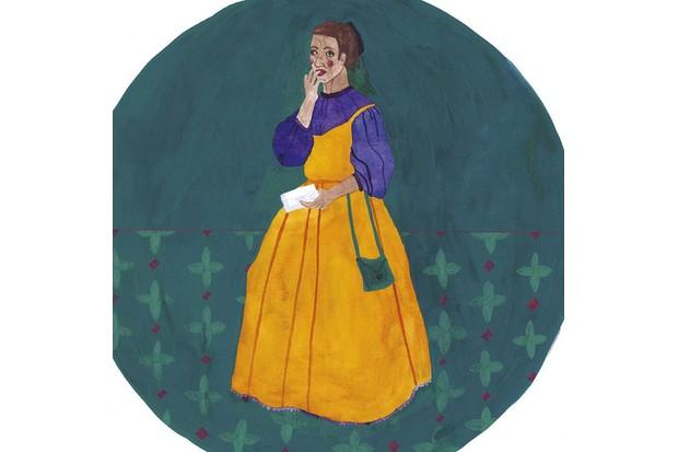 Anne Cobbie. (Illustration: Rose Wilkinson for BBC History Magazine)