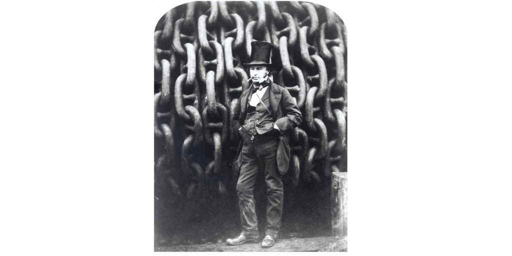 "Isambard Kingdom Brunel. ""For the century following his death, the British public was less inclined to revere Brunel than we are today"", says Crosbie Smith.(Photo by SSPL/Getty Images)"