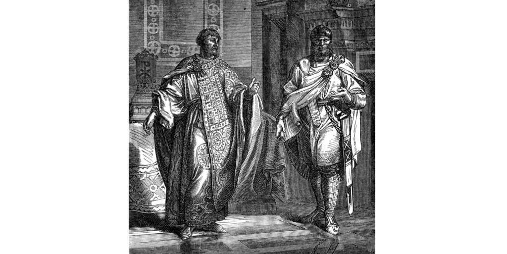 An illustration of Nikephoros II. (Photo by INTERFOTO/Alamy Stock Photo)