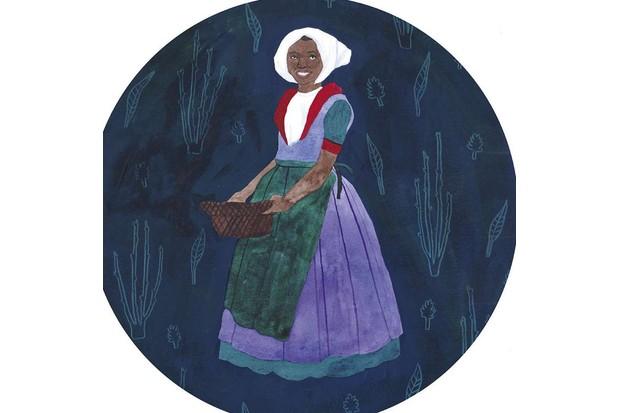 Cattelena. Anne Cobbie. (Illustration: Rose Wilkinson for BBC History Magazine)