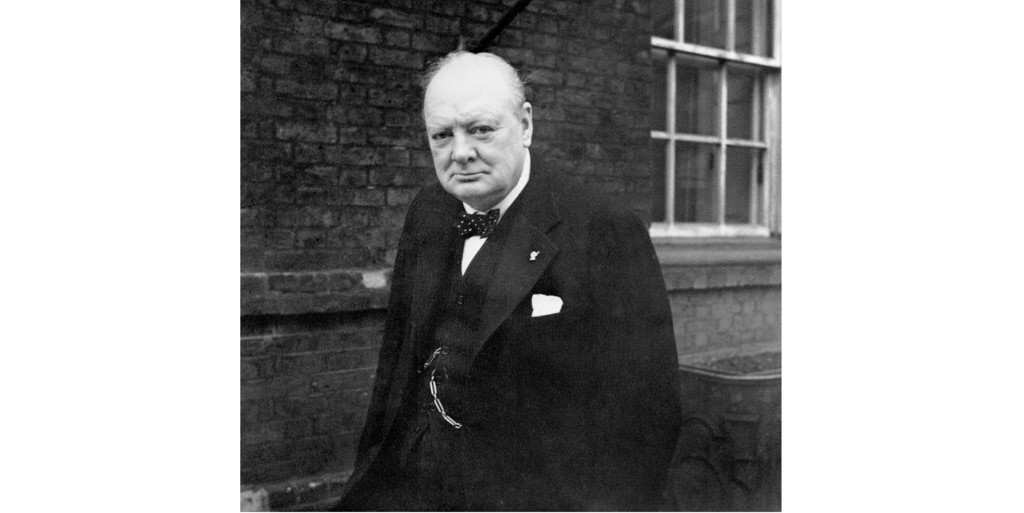Winston Churchill, 1941. (Photo by War Archive/Alamy Stock Photo)