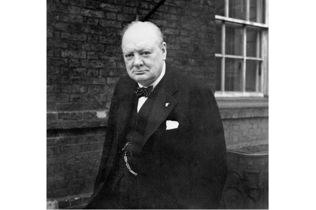 Winston Churchill, 1941. (Photo by War Archive/Alamy Stock Photo)