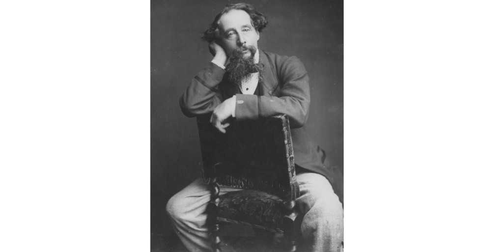 A portrait of Charles Dickens. (Photo by Rischgitz/Getty Images)
