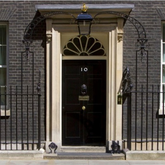 10 Downing Street, the residence of the prime minister of the United Kingdom. (Photo by Getty Images)