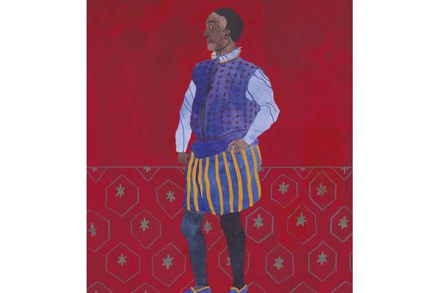 Edward Swarthye. (Illustration: Rose Wilkinson for BBC History Magazine)
