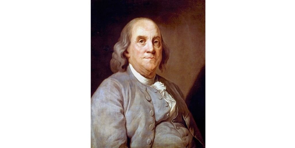 A portrait of Benjamin Franklin. (Photo by Universal History Archive/Getty Images)