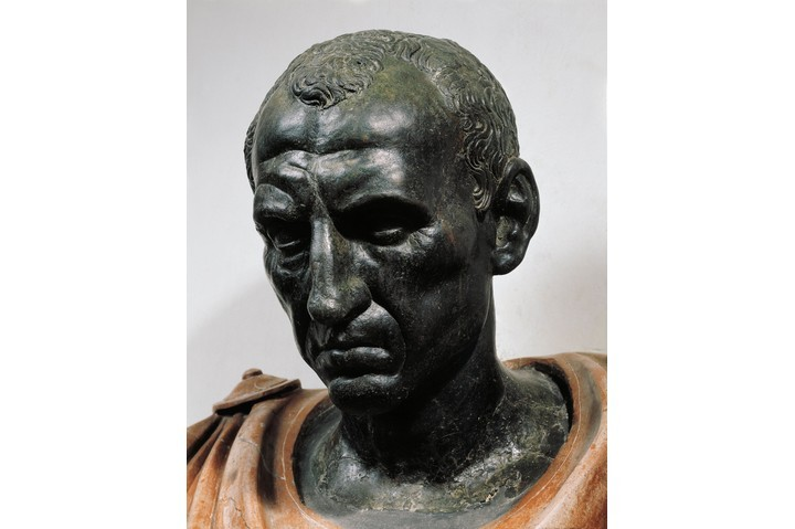 Julius Caesar, depicted in a first-century BC bust