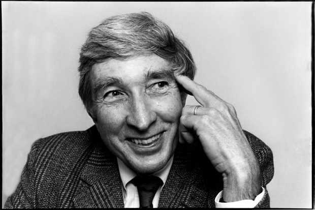 American novelist John Updike