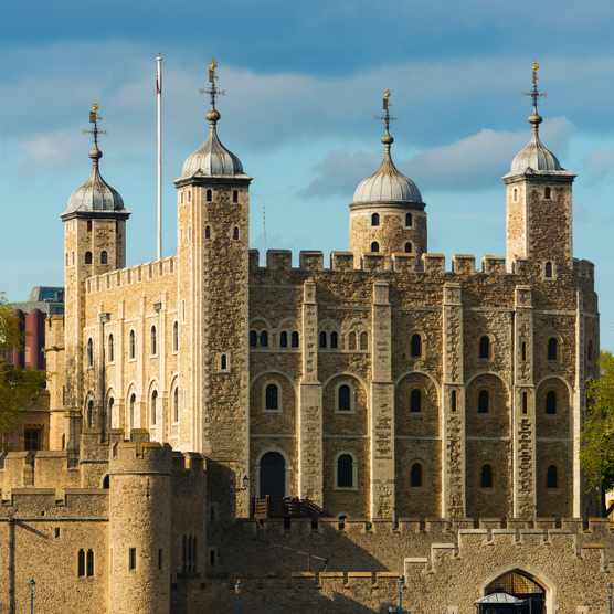 The Tower of London. More than 30 inmates successfully broke out of the royal fortress between the 12th and 18th centuries. (Photo by Tetra Images/Getty Images)