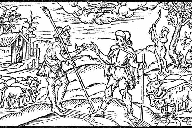 A scene from Edmund Spenser's 'Shepherd's Calendar' (1597). The concept of 'society' entered the English language in the 16th century, and its influence was soon being felt in all corners of the nation. (Culture Club/Getty Images)