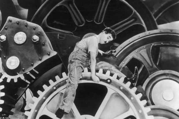 charlie chaplin modern times 1936 full movie hd