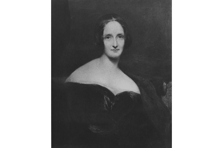 """Mary Shelley, aged about 43. Widowed at 24, Mary """"had to make a literary career for herself, without much help"""", says Fiona Sampson. (Photo by Hulton Archive/Getty Images)"""