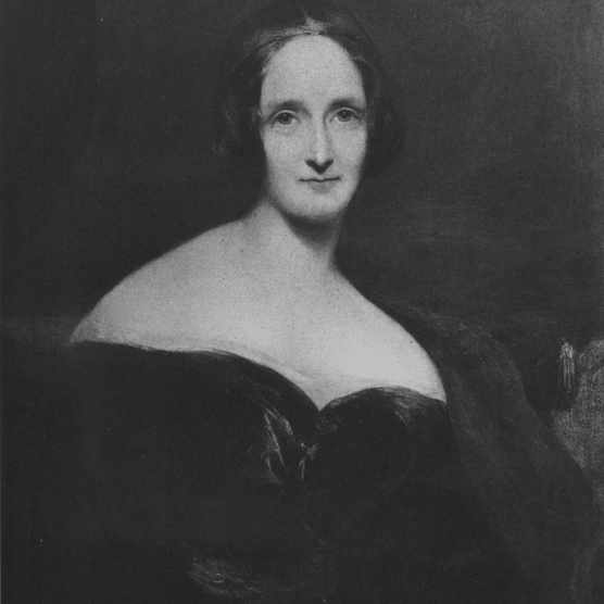 circa 1830:  Mary Wollstonecraft Shelley (1797 - 1851) the English novelist and second wife of Percy Bysshe Shelley, famous for her novel Frankenstein which was published in 1818.  (Photo by Hulton Archive/Getty Images)