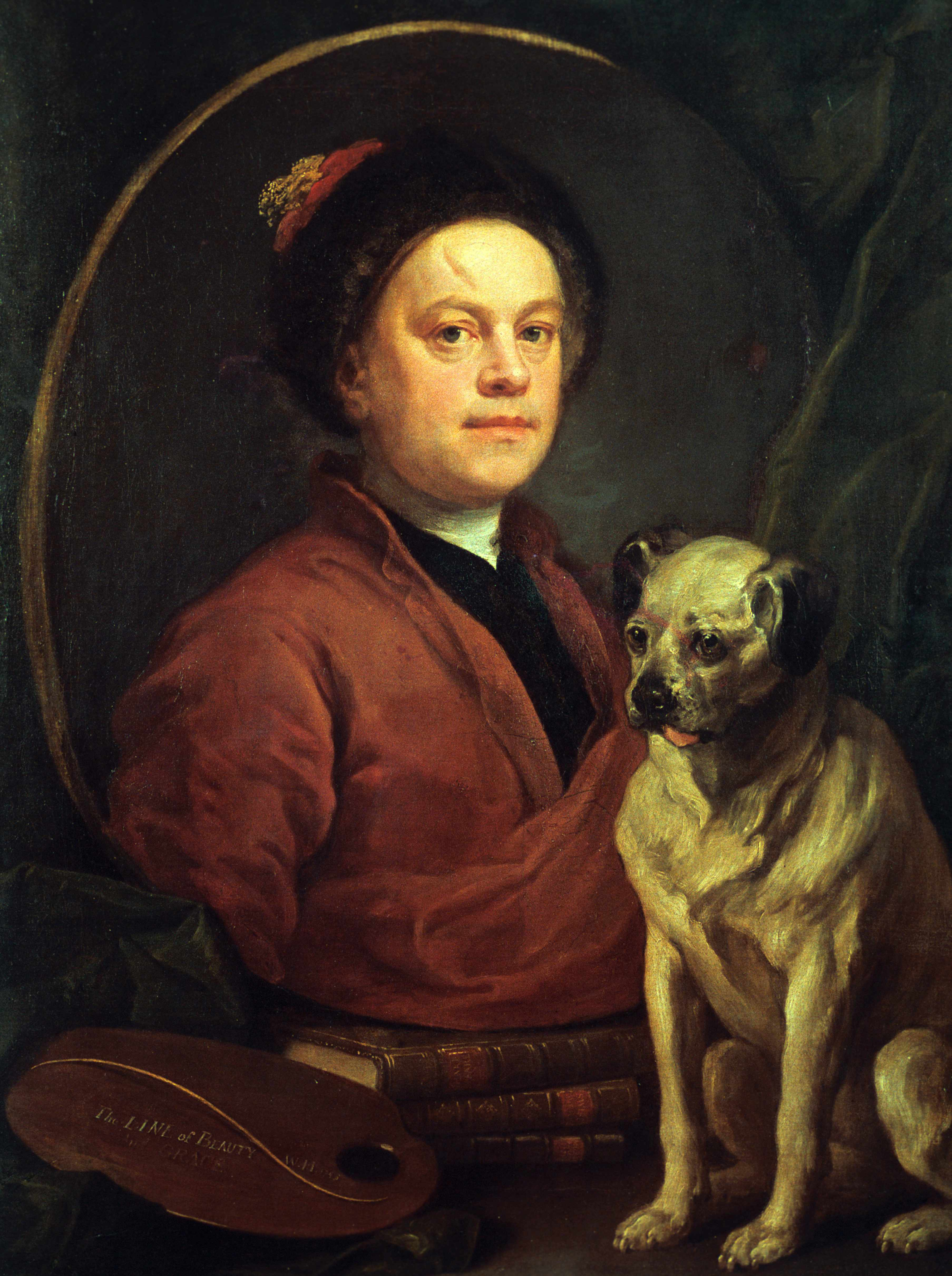 A portrait of William Hogarth, whom Simon Jones admires for possessing an extraordinary eye for pictorial detail and social nuance. (Photo by Art Media/Print Collector/Getty Images)