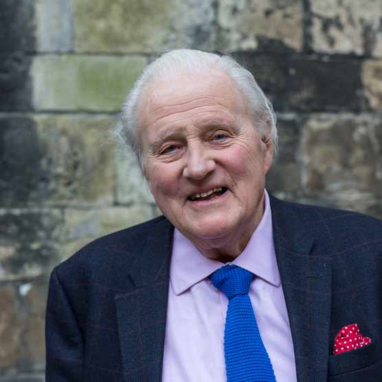 John Julius Norwich pictured at the Oxford Literary Festival in 2014. (Photo by David Levenson/Getty Images)
