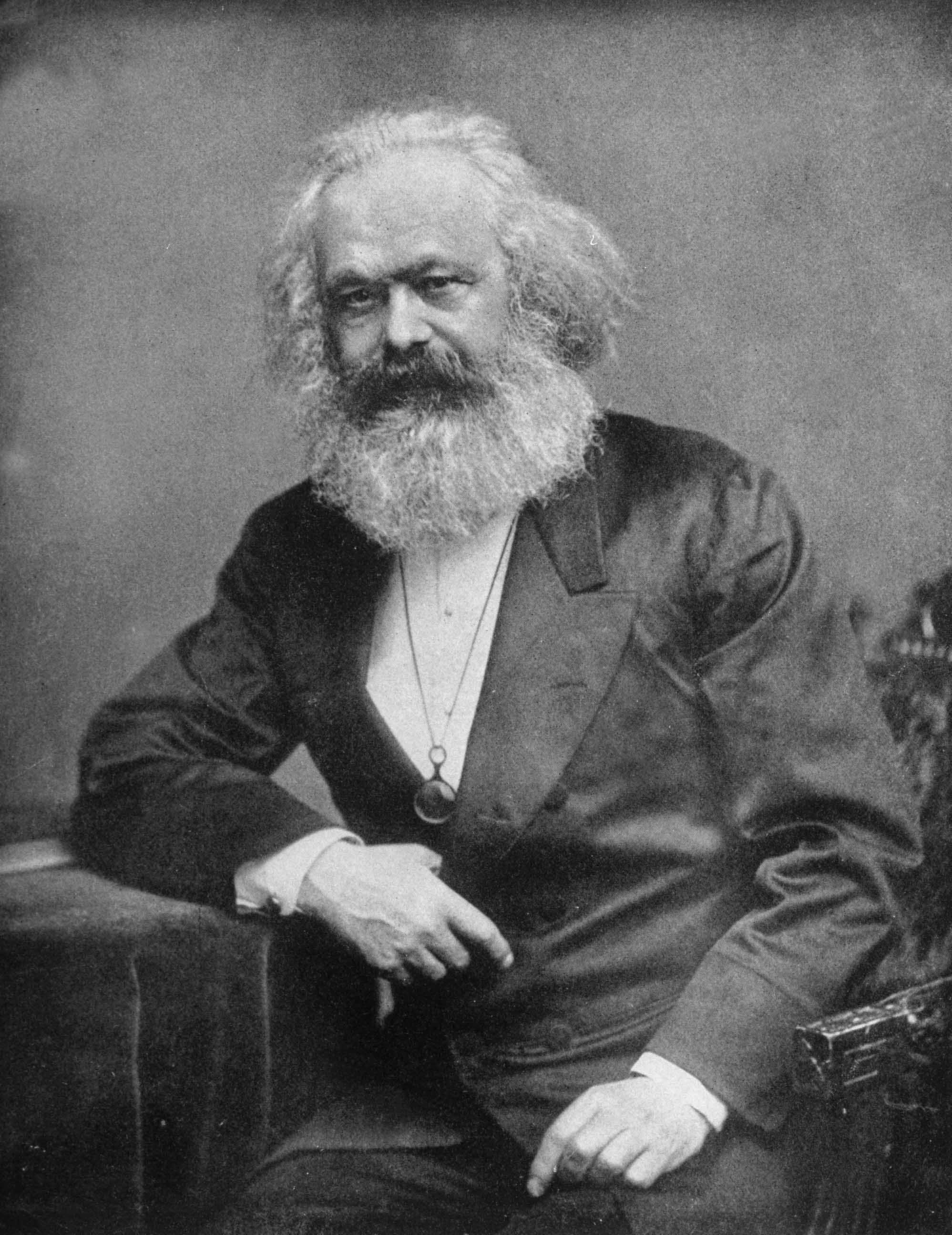 The 19th-century political and social theorist Karl Marx; co-author (with Friedrich Engels) of The Communist Manifesto (1848). (Photo by Time Life Pictures/Mansell/The LIFE Picture Collection/Getty Images)