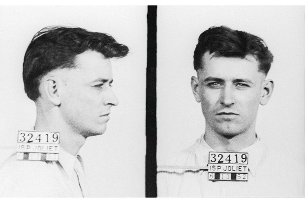State prison photo taken in 1952 of James Earl Ray