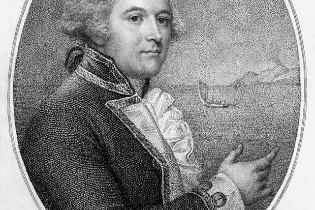 Portrait of Captain William Bligh. (Photo by Bettmann/Getty Images)