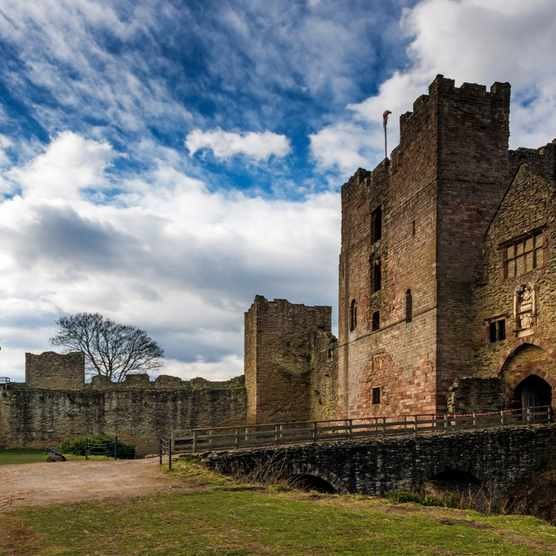 Ludlow Castle was, according to one medieval source, near the scene of the opening clash of the Wars of the Roses. (LatitudeStock - David Williams/Getty Images)