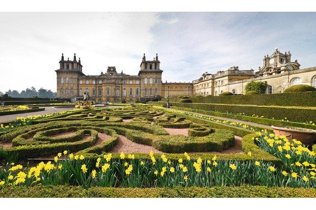 Blenheim Palace, the birthplace of Winston Churchill. (Photo by Imagno/Getty Images)