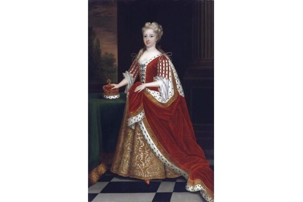 A portrait of Caroline of Ansbach