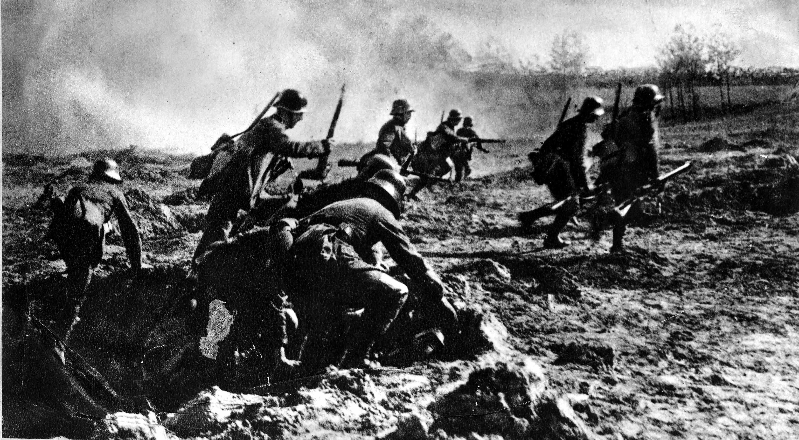 The Spring Offensive, 1918. (Photo by ullstein bild/ullstein bild via Getty Images)