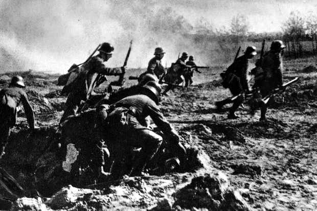 The Spring Offensive, 1918. (Photo by ullstein bild/ullstein bild via Getty Images)