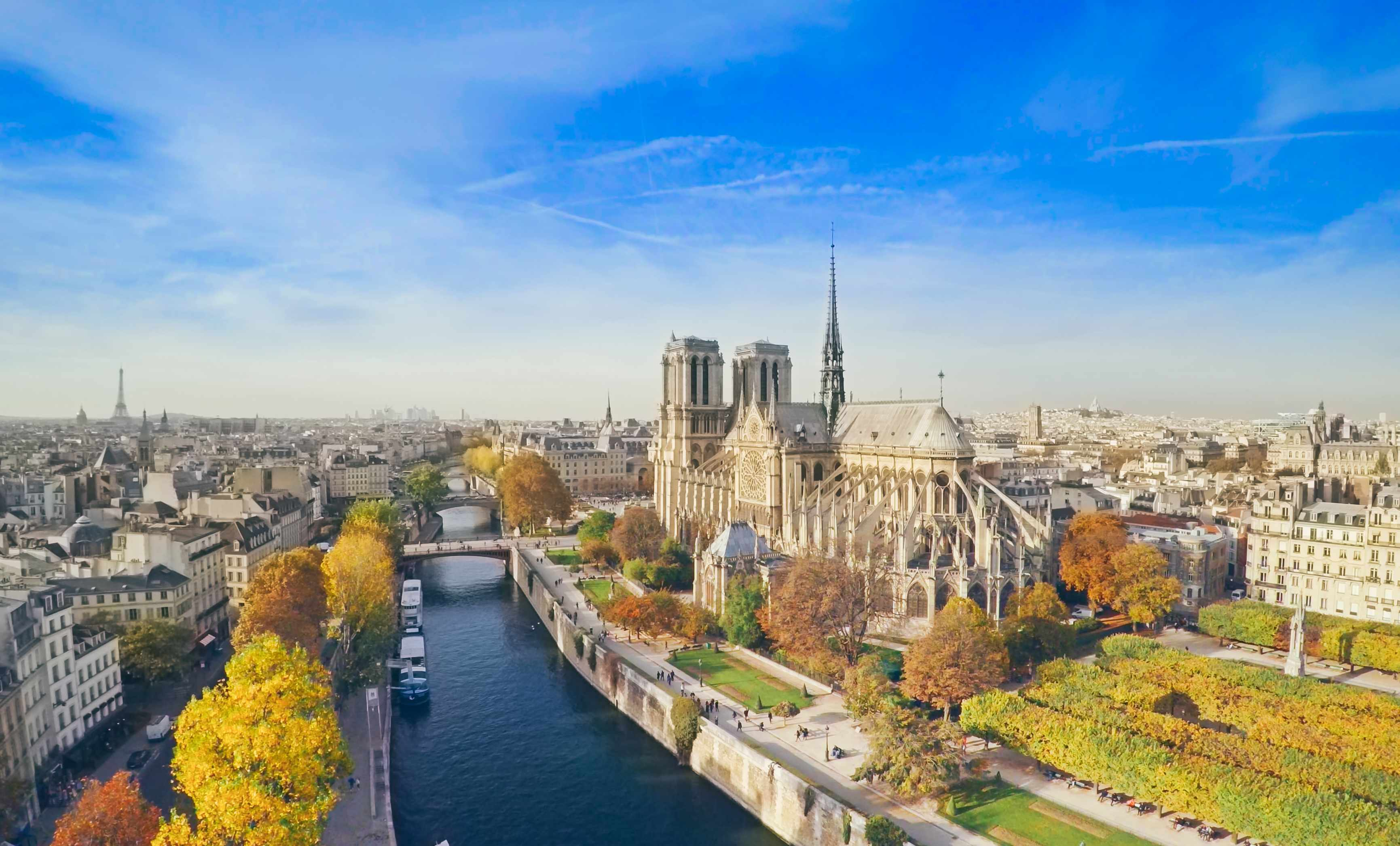 Notre Dame and Paris, France