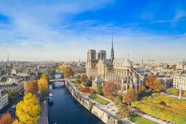 Notre Dame and Paris, France