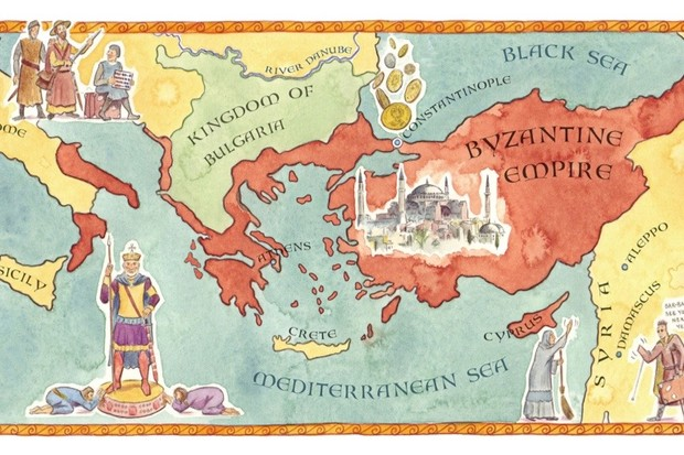 Ye olde travel guide: Constantinople 976 - History Extra