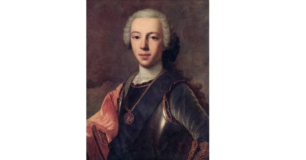 A portrait of Prince Charles Edward Stuart (better known as Bonnie Prince Charlie), the grandson of James II and VII. (Photo by Hulton Archive/Getty Images)
