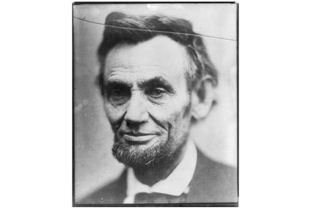 A portrait of Abraham Lincoln