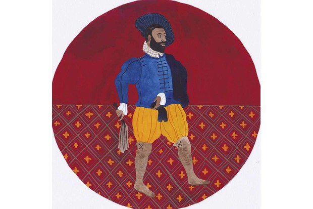 Reasonable Blackman. (Illustration: Rose Wilkinson for BBC History Magazine)