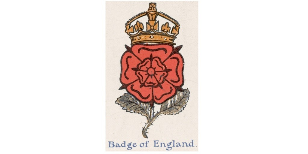 A crowned Tudor rose. (Photo by Hulton Archive/Stringer via Getty Images)
