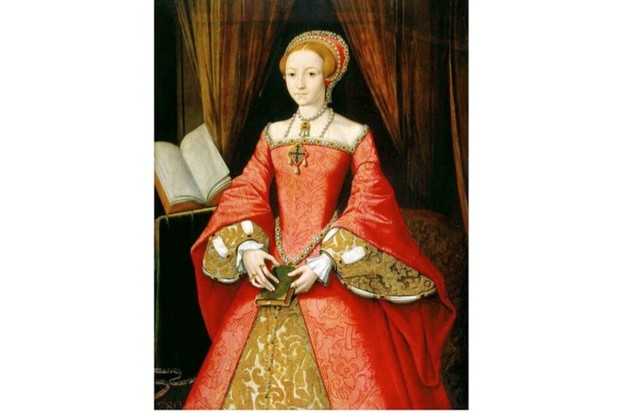 A portrait of the young Elizabeth I. (Photo by Art Collection 2/Alamy Stock Photo)