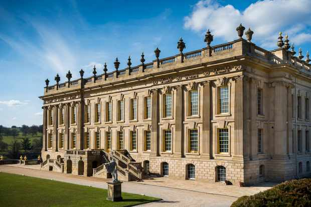 Chatsworth House, where Elizabeth I ordered for Mary, Queen of Scots to be imprisoned after she abdicated and fled from Scotland to England in 1567. (Photo by Chatsworth House Trust)
