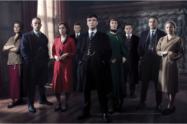The cast of Peaky Blinders. (Photo by BBC/Caryn Mandabach Productions Ltd/Tiger Aspect/Robert Viglasky)
